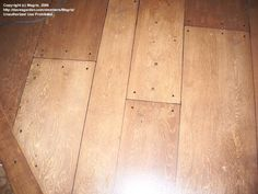 Painted Plywood Floors | Painted Plywood Flooring