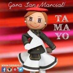 Hoy se celebra una de las fiestas mas tradicinales de #Gipuzkoa #SanMarcial en #Irun Así que aprovechamos para felicitar a tod@s los Irunese/as y desearles un bonito día desde #tamayoPapeleria #Donostia #SanSebastian Gora San Marcial!
