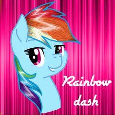 Mlp rainbow dash by Lydia O'Donoghue
