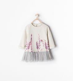 PHOTO PRINT DRESS - Collection - Baby girl - KIDS - SALE   ZARA United States