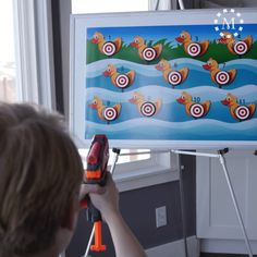 Love this target shoot for primary. You could use it for so many different lessons!