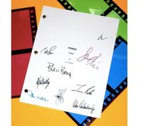 Fringe Pilot Episode TV Script Autographed: Lance Reddick, Blair Brown, Jasika Nicole, Kirk Acevedo, Joshua Jackson, Peter Outbridge & More