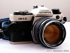 OLYMPUS ZUIKO 55mm F1/1.2 LENS AND OLYMPUS OM-4T by msokal, via Flickr