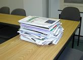 paper clutter- how to manage and how long to keep tax documents, bills, bank statements, etc.