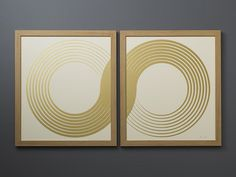 infinity sign over 2 canvases and have people sign inside them