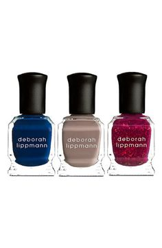 Deborah Lippmann 'She's Always A Woman' Mini Nail Lacquer Trio | Nordstrom