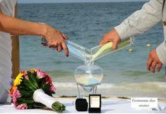 Casa Eventos - Cerimônia das Areias celebra casamento como unificação de duas vidas (Foto: aprendendoacasar y casaeventos)