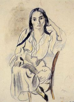 gypsy oil paintings | gypsy woman painting - jules pascin paintings for sale - Oil paintings ...