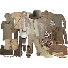 what to wear on safari? Safari Chic, Mode Safari, Safari Party, Safari Theme, Safari Outfits, Safari Clothes, Safari Outfit Women, Travel Photography Tumblr, South Africa Safari