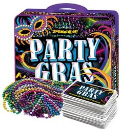 How can you not like a game that comes with Mardi Gras beads?