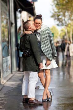chicityfashion: Street style love (captured by Mr. Newton)