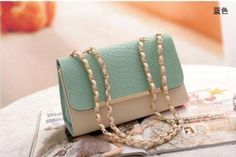 Faux Leather handbag #clutch $19