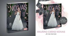O Anuário CARAS Noivas 2013 está repleto de tendências, entrevistas e reportagens, além de ter seções com vestidos de passarela e acessórios. Confira!