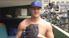 """GF Baseball: Anthony Rizzo's idea for the All-Star Game: """"This year, Shirts vs Skins!"""" - Call me crazy, but I'd watch it!"""