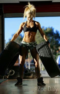 Crossfit dolls. @Anne-Marie Storms I don't know how but we are getting tires at work.
