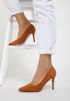 Pantofi stiletto Adelie Camel
