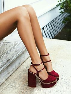 Red shoes we love