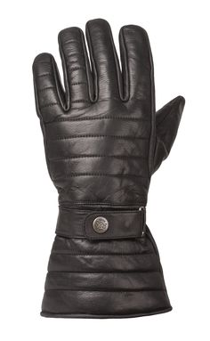 RIDE&SONS Empire Ins. Leather Long Glove Black