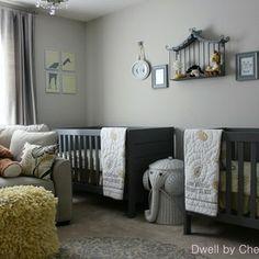 Kids Grey Nursery Gender Neutral Design Pictures Remodel Decor And Ideas