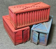 Shipping Containers Review Warhammer 40k