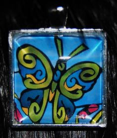 Butterfly Pendant by KabloonaKreations on Etsy, $18.00