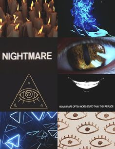 Bill cipher (gravity falls) aesthetic >>> alright I'm down, but is that a black butler panel?