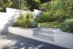 Muswell Hill Garden Design - Gardening - Lilly is Love Terrace Garden Design, Back Garden Design, Patio Design, Design Design, Landscaping On A Hill, Hydrangea Landscaping, Residential Landscaping, Farmhouse Landscaping, Landscaping Jobs