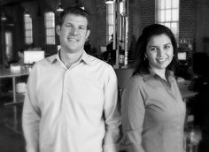 Brad and Heidi Jannenga. Met on Match.com. Got married. Had a baby. Oh, and started WebPT together -- on track to do nine million in revenue. Wow. Love an entrepreneur story like this...  :-)