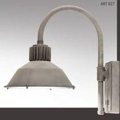Buitenverlichting Mett Frezoli buitenlamp 827 zink finish