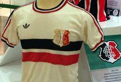 Camisa retrô Santa Cruz Faixa . - Camisas de Clubes Futebol Retro.com