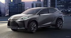 Lexus LF-NX .  LOVE this car! I will have it....if it goes to production that is.