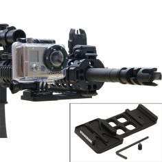 Strikemark Cantilever GoPro Picatinny Mount - Tactical Distributors- Tactical Gear