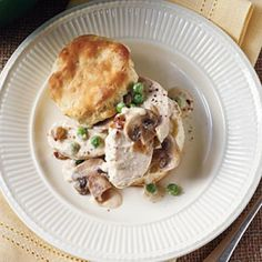 24 Chicken Casserole Recipes: Stovetop Chicken Pie