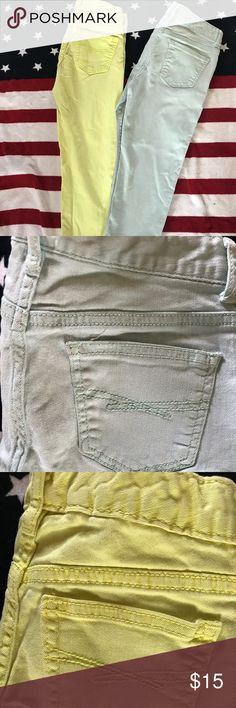 Girls legging jeans Bright colored legging jeans.  Gapkids1969.   Size 10R GAP Bottoms Jeans