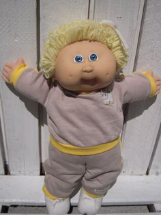 Vintage Cabbage Patch Kids Xavier Roberts Doll 1985 by BeckVintage, $15.00