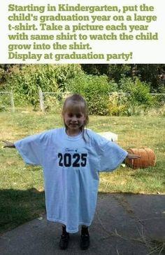 graduation photo-per-year