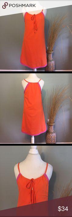 "Anthropologie by JADE MelodyTam Orange Pink  Dress Great Condition, minimal signs of wear, 35"" long. Anthropologie Dresses Mini"