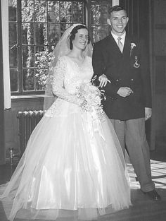 Barry and Dianne Hercus wed 1954