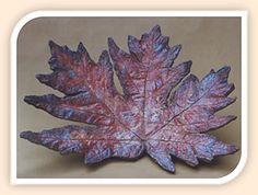 Cement-cast big leaf maple Leaf Stepping Stones, Painting Cement, Concrete Leaves, Coastal Gardens, Big Leaves, Painted Leaves, Garden Art, Note Cards, It Cast