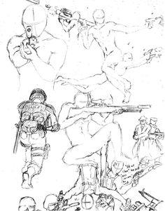 Gun Poses 1 by shinsengumi77.deviantart.com on @deviantART