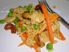 Gemüsereis aus dem Wok, ein tolles Rezept aus der Kategorie Geflügel. Bewertungen: 27. Durchschnitt: Ø 4,1.