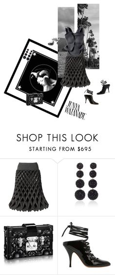 """""""Love You in The Dark"""" by jckyleeah ❤ liked on Polyvore featuring Givenchy and Rebecca de Ravenel"""