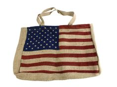 Olympic Tribute!!! American Flag Design Tote....Vintage Americana Look!   # Pinterest++ for iPad #