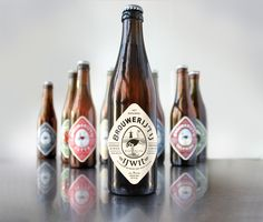 Cool design for a great beer from Amsterdam - The Brouwerij 't IJ via positivitybranding.nl