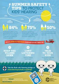 Listen to Your Buds Summer Hearing Safety Tips for Families