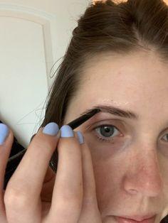 Eyebrow Makeup Tips, Eyebrow Tinting, Hair Makeup, Dye Eyebrows, How To Color Eyebrows, Elf Make Up, Beard Colour, Best Eyebrow Products, Dyed Hair