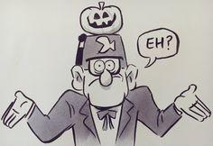 Happy Halloween from Alex Hirsch!