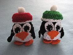 Tiny Penguins Free Crochet Pattern