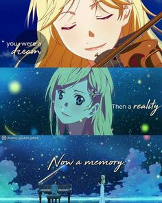 Anime quotes animequotes anime shigastu wa Kimi no you lie in April kaori - Anime quotes animequotes anime shigastu wa Kimi no you lie in April kaori - Sad Anime Quotes, Manga Quotes, Sad Quotes, Kaori Anime, Hikaru Nara, April Quotes, Miyazono Kaori, Manga Anime, Anime Art