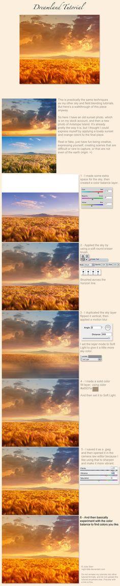 Cambiar el cielo de una imagen